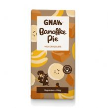 Gnaw  Banoffee Pie Milk Chocolate Bar